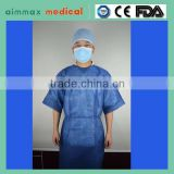 Hubei Xiantao Nonwoven Fabric FDA CE ISO OEM Design Cetificate Medical Products Disposable PP Nonwoven Isolation Gown