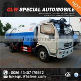Dongfeng DLK Sewage suction truck with dump function