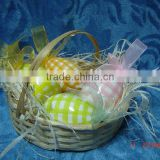 terra cotta egg hanging decoration for easter gifts