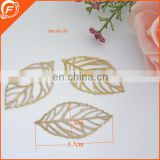 fashion gold color garment ornament accessories metal trims for wholesale