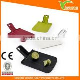 Plastic Kitchen Folding Cutting Board Spade Shape Chopping Board Vegetable & Fruit Cutting Board