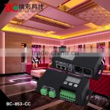 BC-853- 700 3 channels DC12Dear Magdalena, Glad to contact you again! DC12V-48V constant current DMX512 decoder 700mA