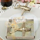 Creative Bridal Shower Favors Wedding Decoration Vintage Airplane Bottle Opener