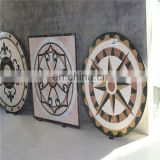 Marble floor medallions patterns