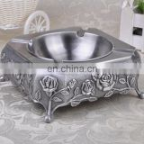 Factory price CUSTOM metal souvenir ashtray for home decoration