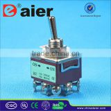 KN-302 ON-ON 2-way toggle switch 3PDT 220v toggle switch