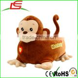 Custom Wholesale funny cartoon super soft plush animal sofa chair for kids