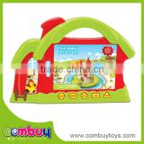 Best sale cartoon house early educational kids toys learning