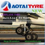 Chinese Michelin 30x11.5-14.5 18x5.5 military aircraft tire