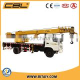 Double power driving 10ton truck cranes with optional working basket