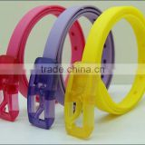 eco-friendly colorful Silicon Waist Belt for sports for USA market