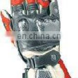Leather Racing Safety Gloves