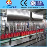 8 head Automatic Industrial Tomato Sauce/Chili Sauce Filling Machine for Bottle/Cans/Jar Packaging (+8618503862093)