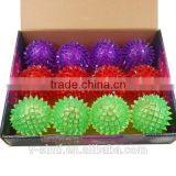 Magic No Toxic light- up spike bouncing ball for entertainment