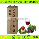 Personalized latest style top quality fancy wooden wine box
