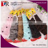 2015 New Products Toddler Girl Baby Leg Warmer With Buttons