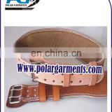 Weight lifting leather belt/Power fitness gym belt