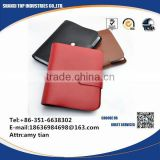 Popular Top009 credit card holder pu Snap closure
