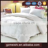 plumpy white cotton fabric polyester filling quilt/duvet/comforter for hotel
