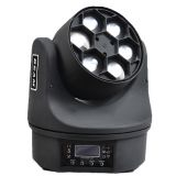 Disco Party Wedding LED Effect Light Stage Beam Moving Head Light 6pcs*10W Bee eye RGBW 4in1