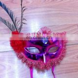 party carnival masquerade feather funny mask MPM-054