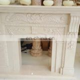 marble corner electric fireplace