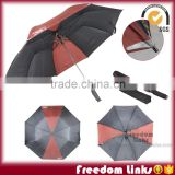 High Quality Reflective 2 Fold Umbrella Customized Logo