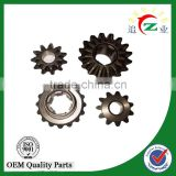 china factory steel differential shaft gear of tricycle