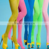 High End Fashion Wholesale Summer Velvet Candy Color Plain Ladies Girls Pantyhose