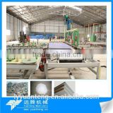 Full automatic plaster board making machine with capacity 2-30million per year