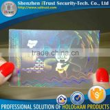Transparent hologram lamination for id card id card hologram film hologram id card