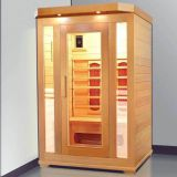 wooden designs infrared sauna room