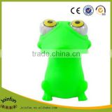 Custom soft squeeze toy ,OEM plastic eyes pop out squeeze toys,Cartoon eye pop squeeze toy