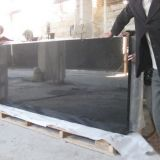 Absolute black Granite China golden leaf natural stone factory