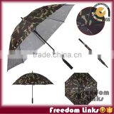 30 Inch camouflage Double Layer Wind-Proof Straight Golf Umbrella