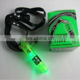 led flashlight whistle with gift box package
