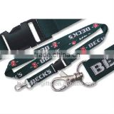 New Style Polyester Lanyard Strap with buckle