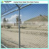 China 50*50mm Electro-galvanized,hot-galvanized, Anti-Aging Playground suppliers Galvanized Chain Link Fence