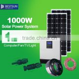 BESTSUN whole set solar power system home 1000W