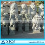 Natural granite stone sculpture