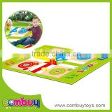 Intelligence toys big size ludo game mat for kids
