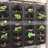 Vertical Wall Garden Planter 7 Pockets Wall Mount Planter Solution