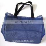 Silk Printing Women's Plastic Mesh Bag