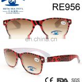 2017spring fashion style red leopard print frame PC reading glasses