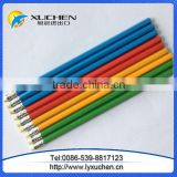 HB pencils standard pencils yellow colored pencil with erasers topper