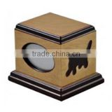 Beloved pet bone ash wooden cremation urn with reasonable price