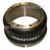 Brake drum iron casting for auto truck trailer