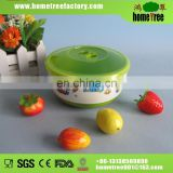 550ml plastic microwave soup bowl with lid