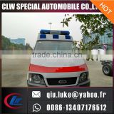 Multifunctional ambulance with lightbar for sale with high quality