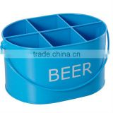Party Blue Beer Bucket Holder